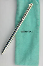 Vintage Tiffany & Co. (925) Sterling Silver Functional Ball Point Pen w/ T-Clip