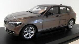 Paragon 1/18 Scale diecast PA-97006 BMW 1 Series Sparkling Bronze