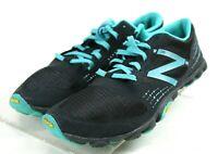 New Balance Minimus $100 Women's Trail Running Shoes Size 7 Black Blue