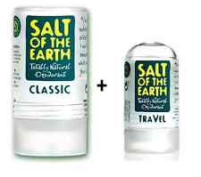 Salt of The Earth Rock Chick Natural Girls Kids Stick Deodorant Unscented 90g