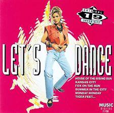 LET'S DANCE - ORIGINAL 19 SUPER HITS / CD - TOP-ZUSTAND