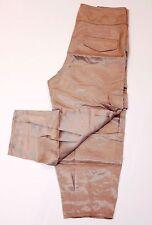 CYNTHIA STEFFE Runway Dress Cropped CARGO Pants SILK ( S )