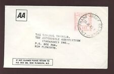 NEW ZEALAND 1973 AA METER 4c COVER..FRANZ JOSEF GLACIER