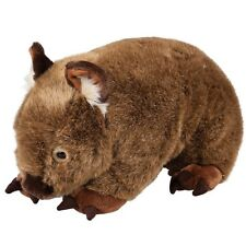 Australian 45cm Cuddly Big Russ The Wombat by Minkplush Outbackers Range
