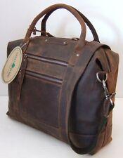 GreenBurry Damen-Business-Shopper Rind-Leder 40*29*12 cm Schulter-Tasche 1954
