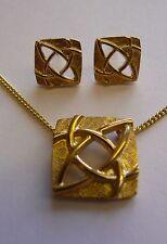 Ola Gorie Alba DORMILONAS 9ct Oro Amarillo Escocia Celta Joyería Caja