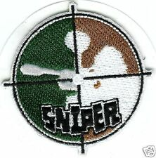 Paintball Logo Shoulder CAMO SNIPER Sticker PATCH