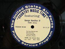 US Army Country Music Time 'Hugh X Lewis & George Hamilton IV LP