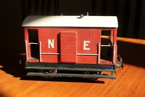 gauge 0 LNER short goods brake van