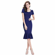 Polyester Dry-clean Only Formal Solid Dresses for Women