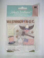 JOLEES BOUTIQUE WASHINGTON DC TRAVEL SCRAPBOOKING STICKERS
