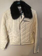 Ladies Harley Davidson Coat/Jacket With Fur Collar