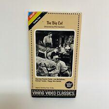 THE BIG CAT, FILM CLASSICS, LON MCCALLISTER, PEGGY ANN GARNER, VHS 1984