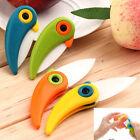 Cute Bird Folding Mini Ceramic Knife Vegetable Fruit Peeler Kitchen Tool Cutlery