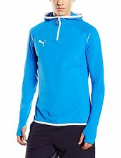 Puma Mens XL Athletic 654600 49 IT evoTRG Hoodie BLUE WHITE RUNNING JACKET NEW