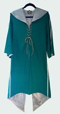 HARRY POTTER SLYTHERIN QUIDDITCH GAMING ROBE CAPE COSPLAY NEW