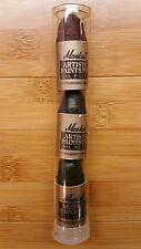 1998 Shiva Markal Artist Paintstik Solid Oil Paint Stick Form Sample Pack of 3