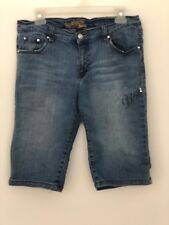 Southpole women Sz 13 denim Bermuda shorts