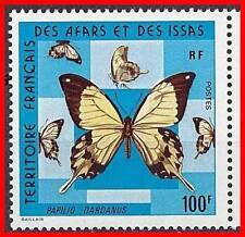 AFARS & ISSAS 1975 BUTTERFLIES 100 FR SC# 397 MNH(DEL04)
