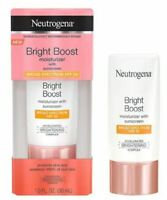 Neutrogena Bright Boost Face Moisturizer SPF 30 - 1.0 oz Exp.04/2021