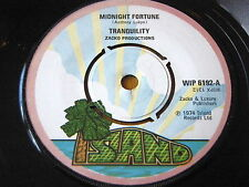"TRANQUILITY - MIDNIGHT FORTUNE  7"" VINYL"