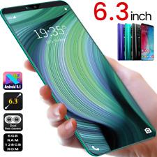 6.3'' Rino5 Pro 6G RAM + 128GB ROM Smartphone Android Dual SIM Cell Phone