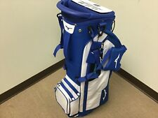 New listing MINT!!! MIZUNO BR-D3 GOLF BAG / STAND BAG / 4 WAY TOP / WHITE BLUE