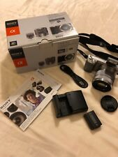 Sony Alpha NEX-5N 16.1MP Digital Camera - Silver With E OSS 18-55mm Lens Kit