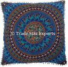 26x26 Mandala Euro Sham Cover Large Hippie Pillow Cases Decorative Cushion Cover