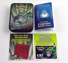 Pokémon Emerald Version Pre Order Rayquaza Tin No Game
