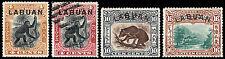 Labuan Scott 96-99 (1899-1901) Mint/Used H Vf Complete Set, Cv $130.90