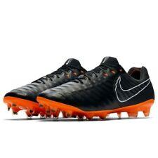 Mens Nike Legen 7 Elite FG AH7238-080 Black/Total Orange Brand New Size 9