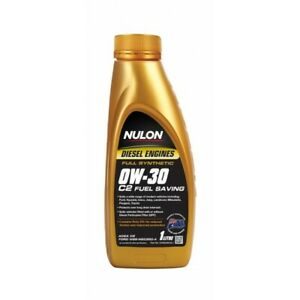 Nulon Full Synthetic C2 Fuel Saving Diesel Engine Oil 0W-30 1L fits Mahindra ...