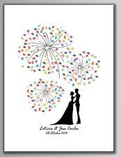 Tableau à empreintes pour les mariages, anniversaires, baptêmes...(30x40 cm)