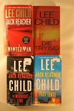 A Wanted Man, Midnight Line, Past Tense & Die Trying by Lee Child (Reacher)