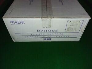 Vintage Optimus CD-8100 5-CD Automatic Carousel Disc Changer BRAND NEW IN BOX