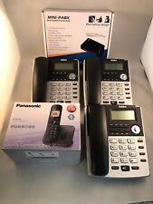 Casa Pequeña Oficina Pbx 308 sistema telefónico y 3 Escritorio + 1 Sin Cable Nueva