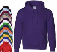 Gildan Plain Heavyweight Pullover Hood Hooded Sweatshirt Sweat Hoodie Hoody