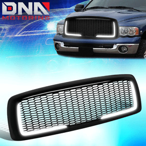 FOR 2002-2005 DODGE RAM 1500/2500/3500 HONEYCOMB MESH STYLE GRILLE W/LED DRL