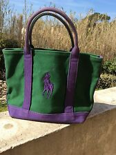 Tres beau sac toile Polo Ralph Lauren