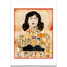 Tattooed Lady by Peter Blake art print (35.6 x 28 cm) - 40% off SALE