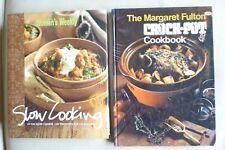 Australian Women's Weekly SLOW COOKING HB/DJ & Margaret Fulton CROCK POT Cookboo