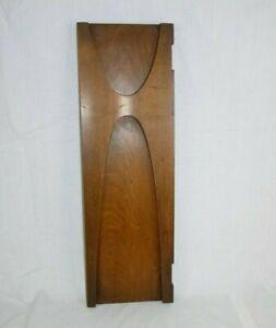 "Vtg Mid Century Broyhill Brasilia Hutch Door Only 21"" x 6.75"" Repair Repurpose"
