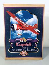 1994 Ertl Campbell's 1929 Lockheed Air Express Diecast Airplane Coin Bank