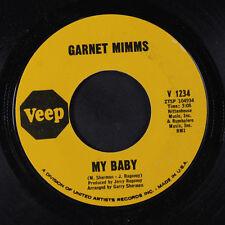GARNET MIMMS: My Baby / Keep On Smilin' 45 Soul