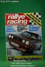 Rallye Racing 2/80 BMW 323i Turbo Audi 80 BMW 535i + Poster