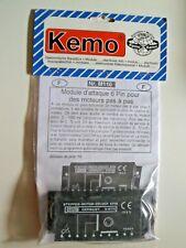 KEMO M110 Schrittmotor-Treiber 6Pin *Neu* *1 Stück*