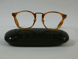 Persol Typewriter Edition Eyeglass Frames. Current Style. Made in Italy.