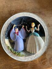 """Disney Animated Classics """"Cinderella - 1950"""" Plate - 3D Collectors Princess"""