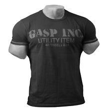 GASP - Basic Utility Tee - T-Shirt schwarz